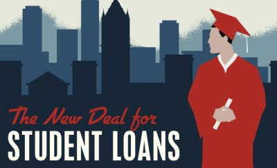 A Plan to Help Students Manage Loan Debt - New Student Loan Deal [Infographic] - College Cures