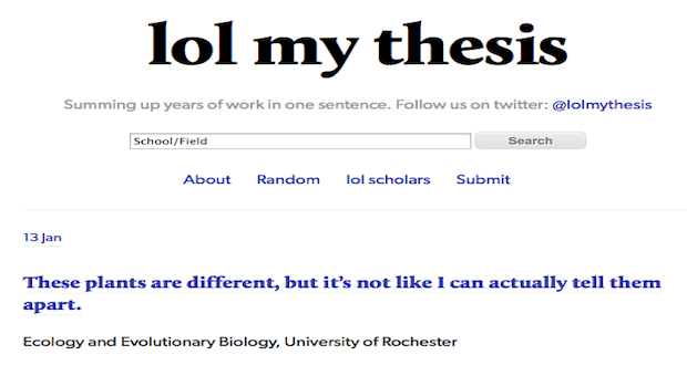 My thesis online