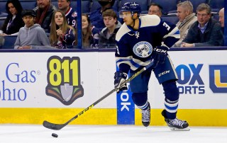 Columbus' Seth Jones could be an offer sheet candidate (Photo by Kirk Irwin/Getty Images)