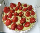 Buy this! Strawberry tart from guest vendor Market Day Canele
