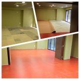 Instalación de pavimento linoleum