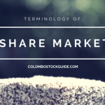 Terminology of Share Market