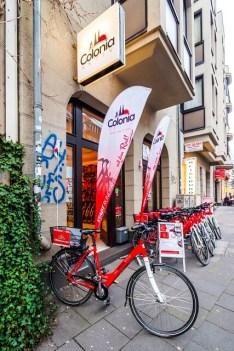 Fahrradverleih Köln Impressionen
