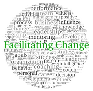 Facilitating change round green
