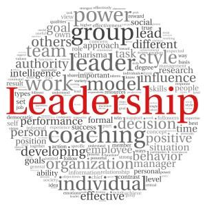 Leadership round red