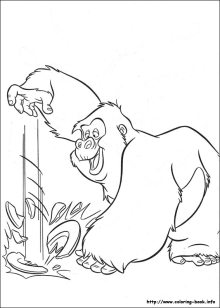 Free Disney Tarzan Printables, Coloring Pages, and