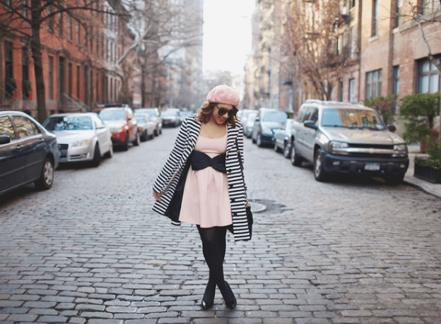 nyc-blogger-new-york-city-blogger-nyc-fashion-blogger-stripe-dress-stripe-trench-coat-stripe-jacket-black-white-stripe-coat-black-white-stripe-trench-mink-pink-dress-mink-pink-bow-dress-pink-bow-dress-cute-how-to-dress-cute-black-blogger-Untitled-103
