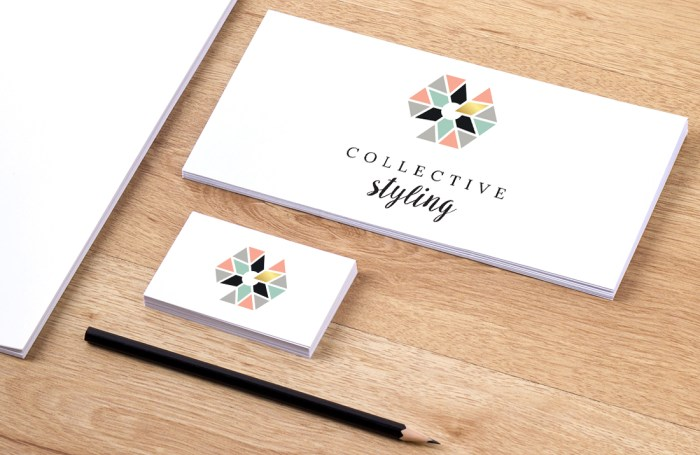 Collective Styling logo design by Tegan Swyny of Colour Cult.
