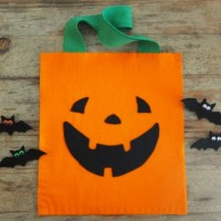 Treat Bag to Sew for Halloween
