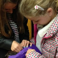 Why hand sewing is great for your kids
