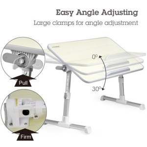 Avantree Quality Adjustable Laptop Bed Tray b
