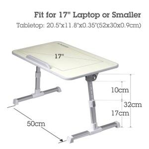 Avantree Quality Adjustable Laptop Bed Tray c