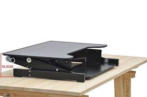 Smonet Height Adjustable Standing Desk Riser Sit
