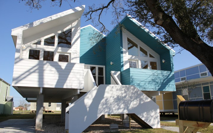 MIR homes in New Orleans  - image: makeitright.org