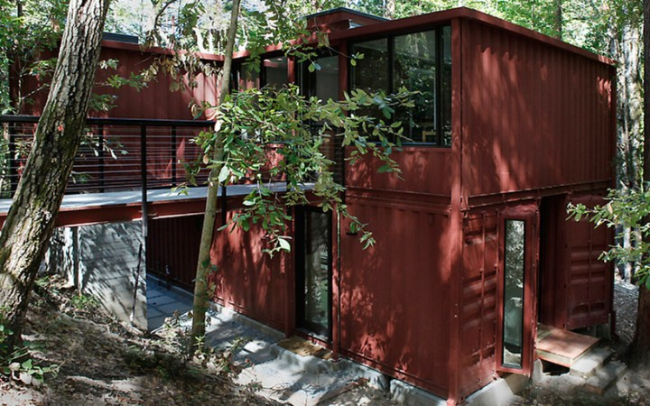 these are container homes we'd want to live in -source: containerbasis.de - container homes - coloursontheinside