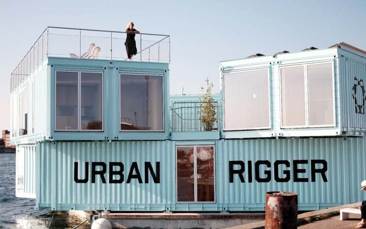 Copenhagen's Big Urban Rigger - source: newatlas.com - container homes - coloursontheinside