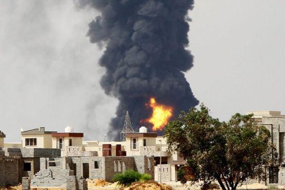 Libia Bombardamento