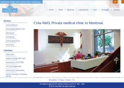 Créa-Med — Comment augmenter le trafic en conservant le même budget?
