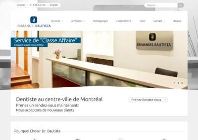 Dr Bautista – Dominer un marché en maximisant les investissements Web