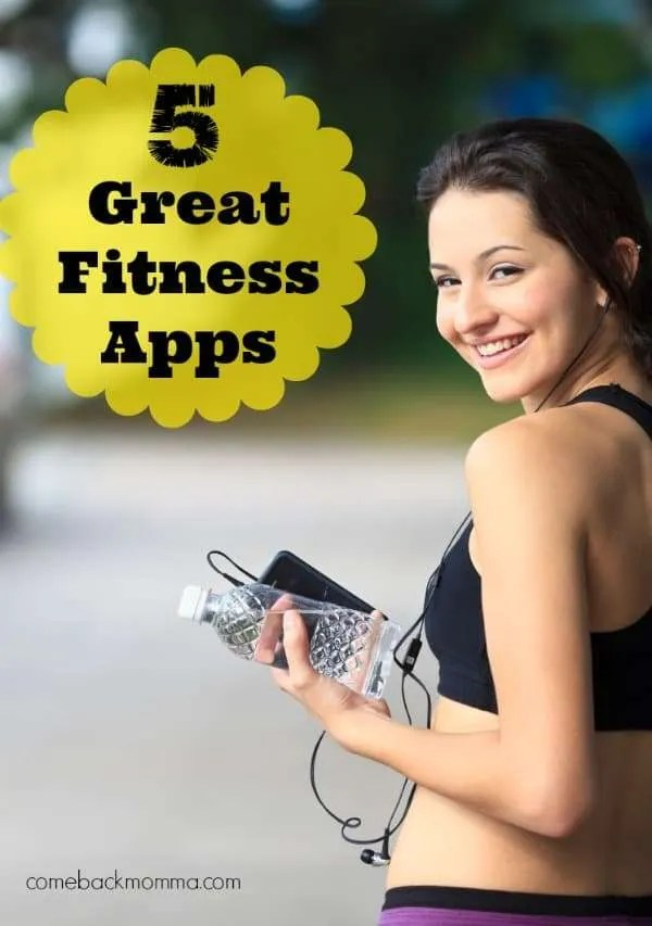 5 great fitness apps