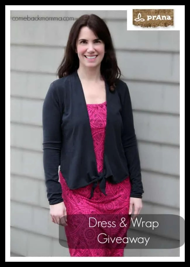 prAna Dress and Wrap Giveaway #FashionistaEvents