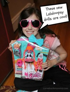 New Lalaloopsy dolls