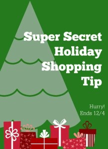 holiday shopping tip