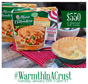 #WarmthInACrust Twitter Party