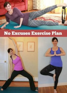 No Excuses Exercise Plan