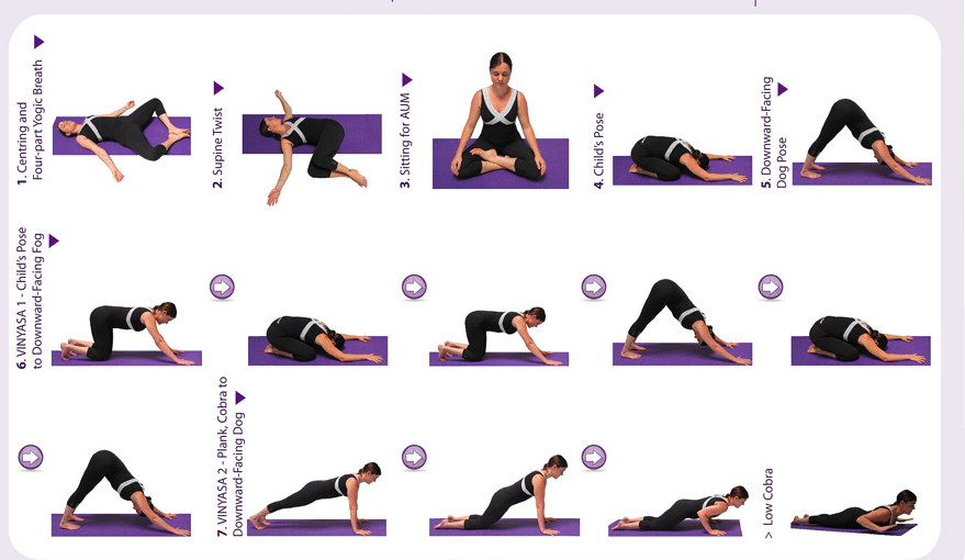Nerdy image for printable yoga routine