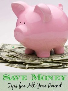 Great Tips to Save You Money All Year Round