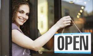Hoy es el dia de abrir tu negocio.