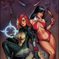 Dawn / Vampirella 6 Issue Crossover Event Coming in 2014 From Dynamite