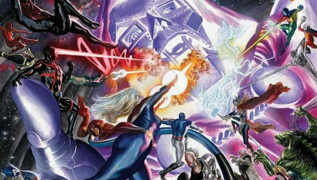 Comic Book Noise 635: Secret Wars #7, Thors #4, Squadron Sinister 4, and The Infinity Gauntlet #5