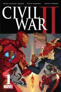 Cover of Civil War 2 #1