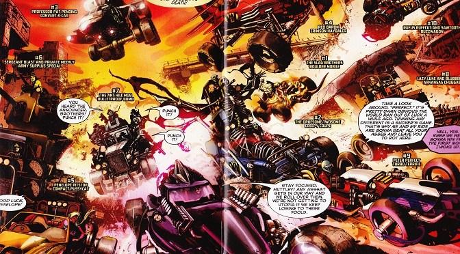 Comic Book Noise 743: Wacky Raceland #1