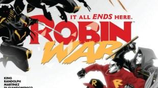 Robin War #2 Cover