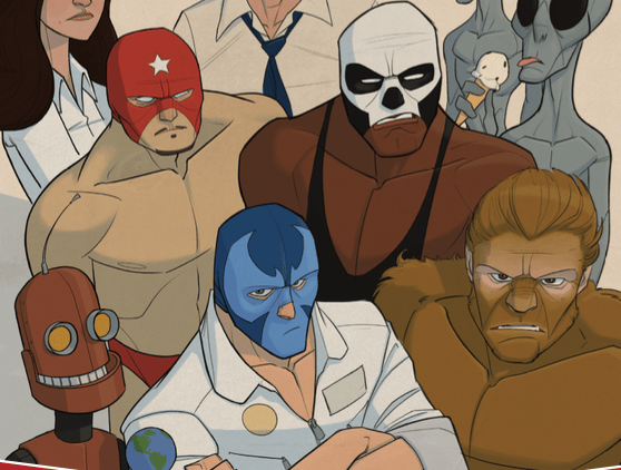 Wrestlers In Space #1 Review