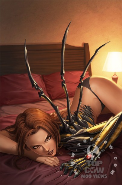 Witchblade Annual 2009 covers by Basri