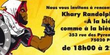 [FRENCH] «A la bière comme à la bière» nous communique: Nous vous invitons à une rencontre-dédicace avec Khary RANDOLPH, illustrateur de comics américain à A […]