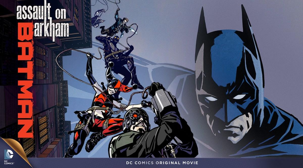 DVD Review: Batman - Assault On Arkham