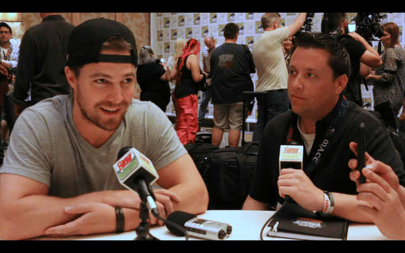 SDCC 2015: Arrow - Season 4 - Interview with Stephen Amell