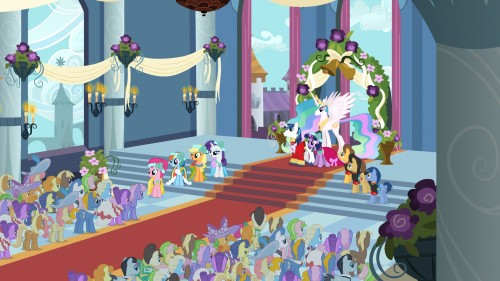 """TV Review: My Little Pony: Friendship Is Magic - """"A Canterlot Wedding"""""""