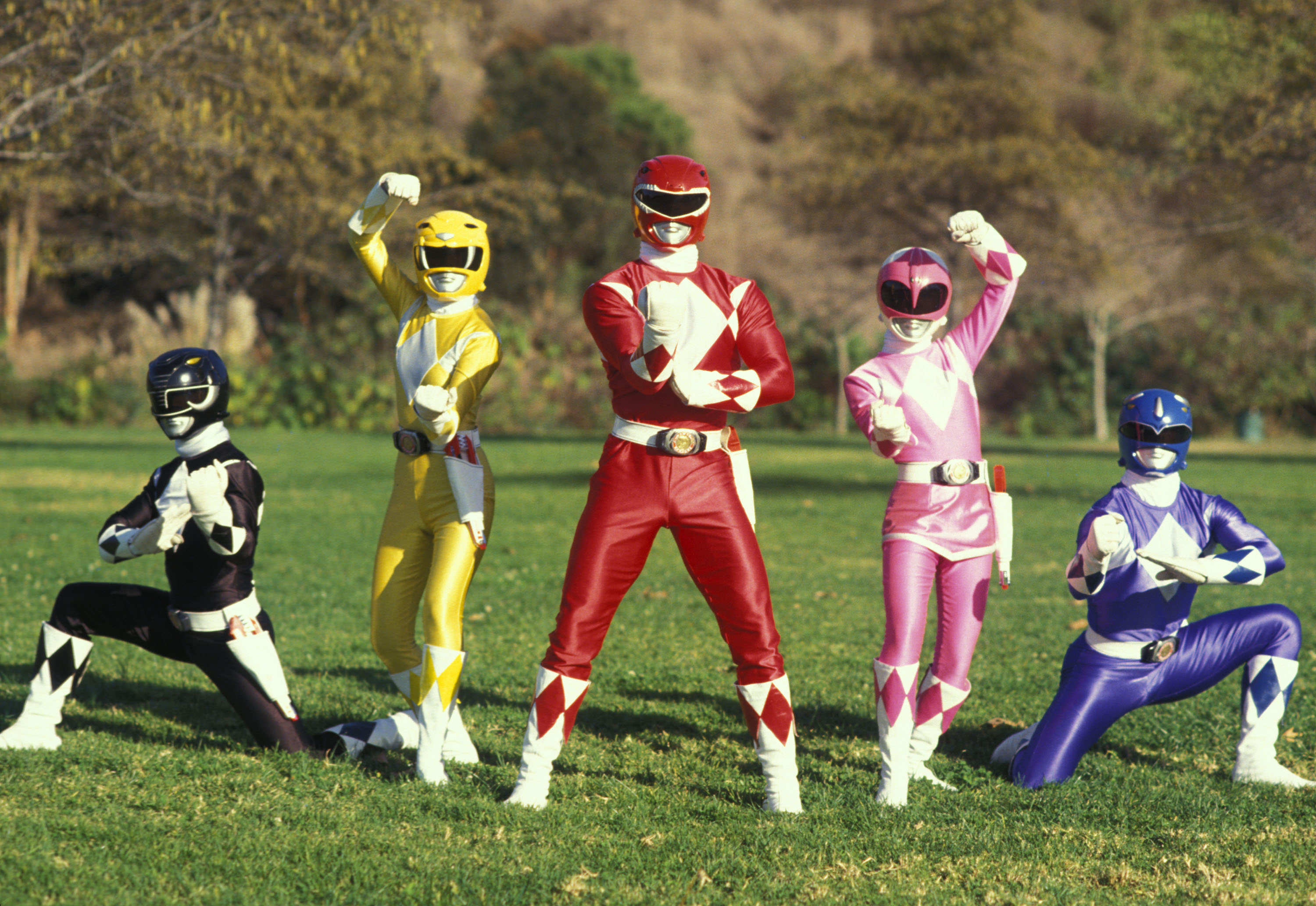 Saudades: Power Rangers
