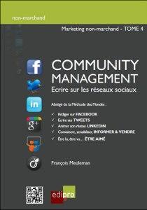 community management - reseaux sociaux et associations - le livre