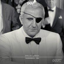 Émilio Largo (Adolpho Celi) - OpérationTonnerre 1965