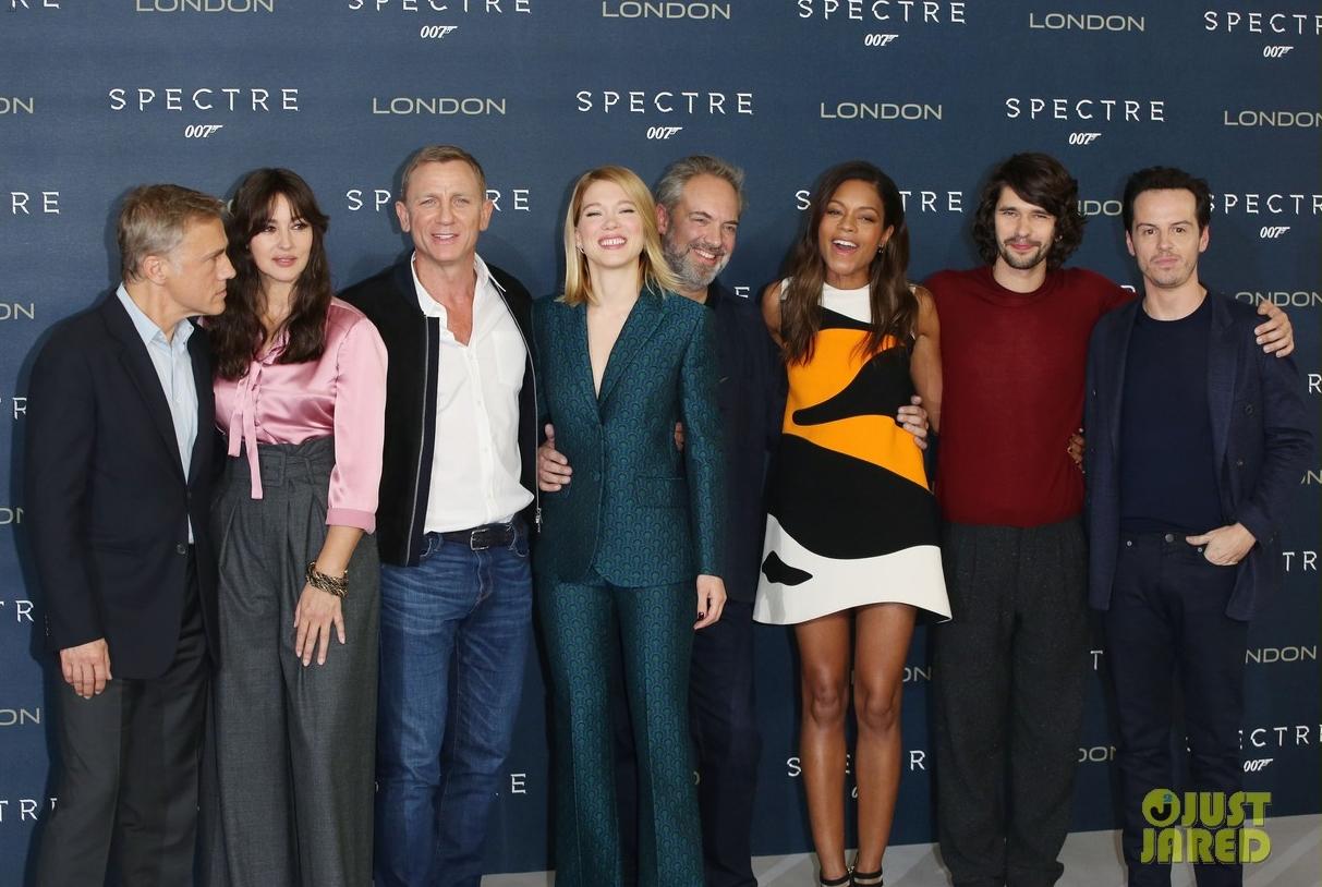 James Bond Spectre photocall