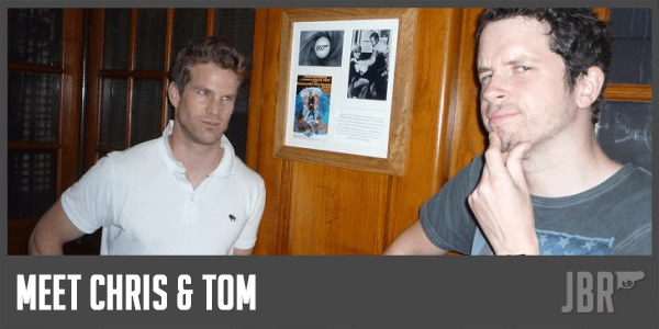 Chris et Tom, les animateurs infatigables de James Bond Radio