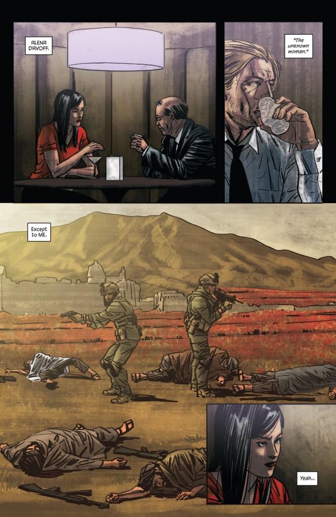 Felix Leiter comics (1)