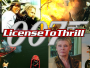 License to thrill banner
